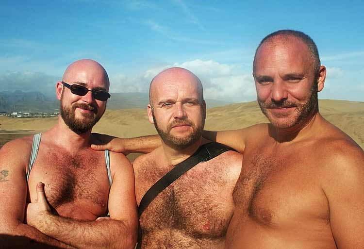 Bears in Maspalomas Beach