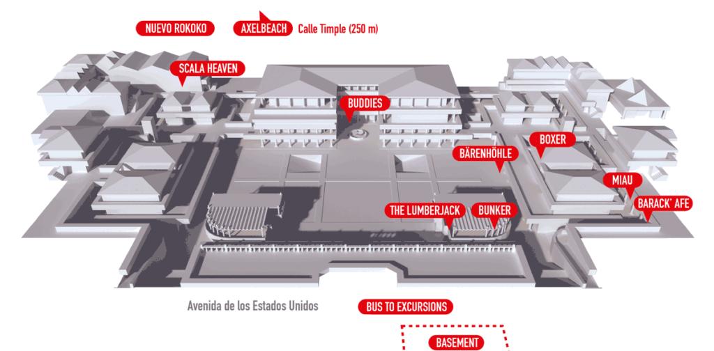 Mapa centro comercial Yumbo