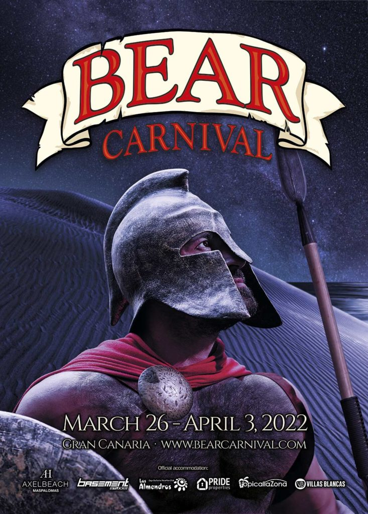 Official poster for Bear Carnival 2022